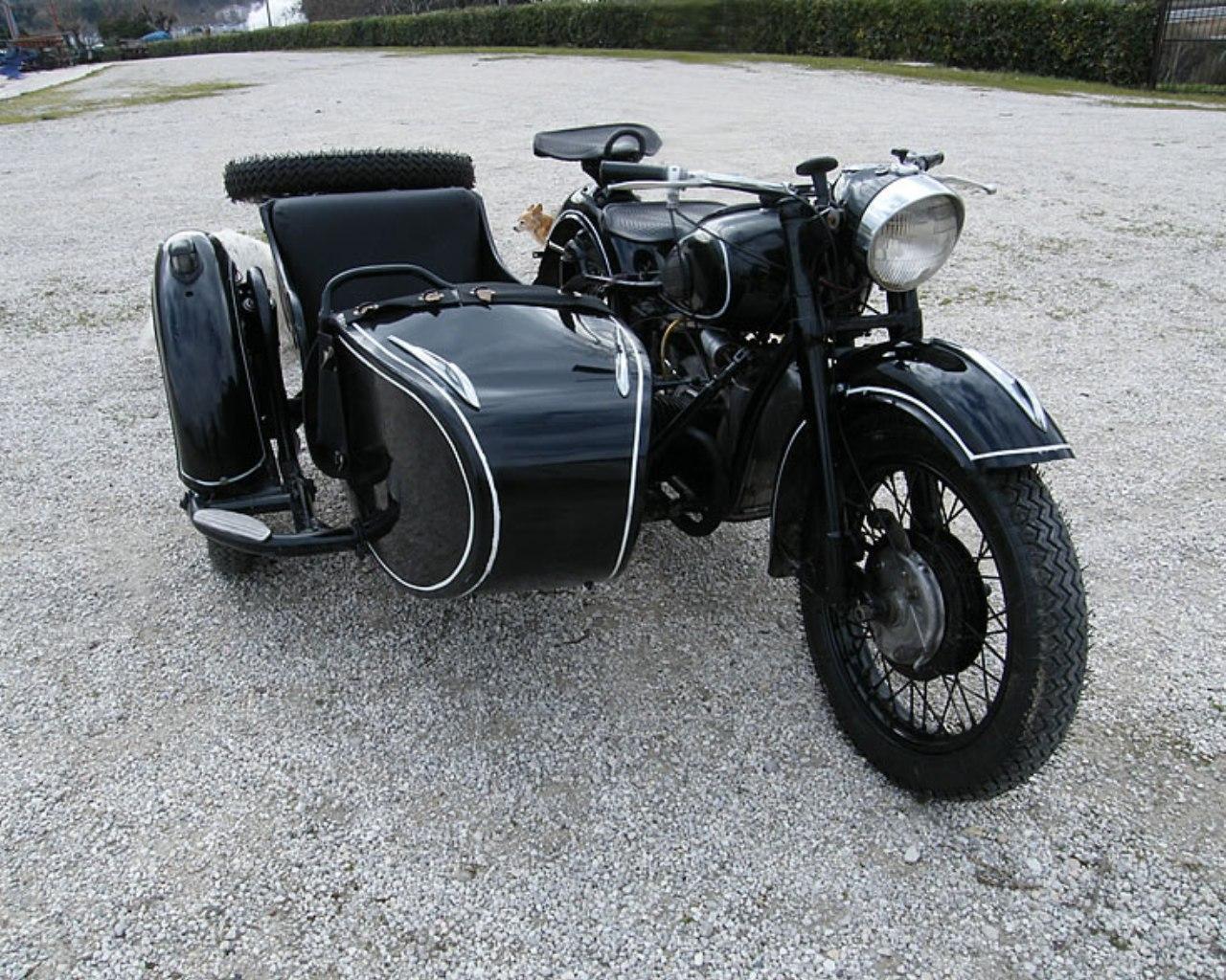 Dnepr MT-12 sidecar 2WD - sidecar matrimonio - sidecar nuziale